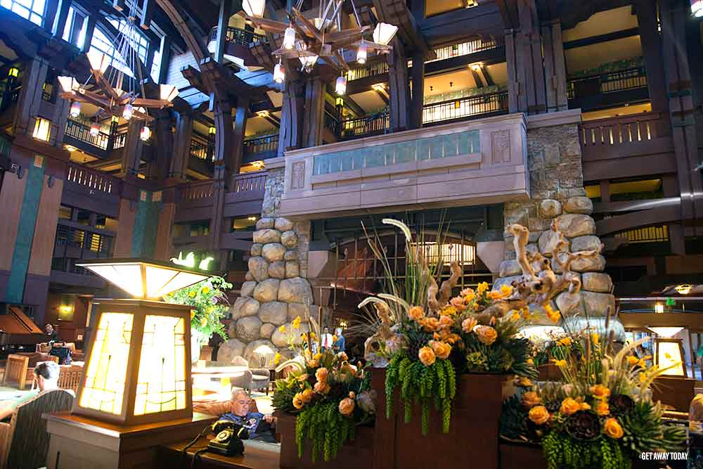 Disney Hotels Difference Grand Lobby