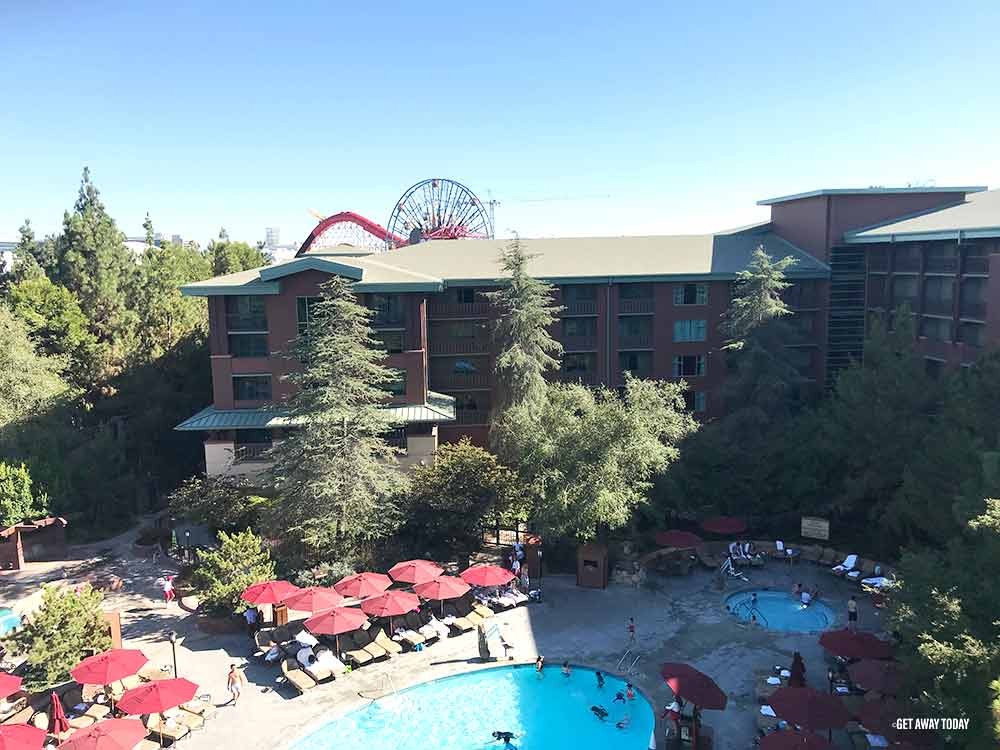 Disney Hotels Difference Grand Californian Hotel Pool