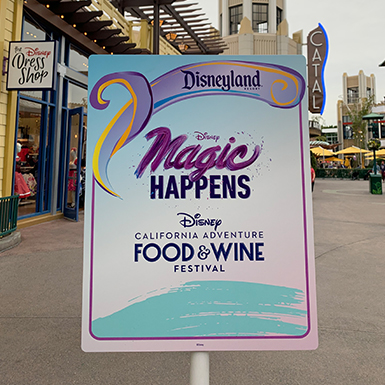 7 Tips for the Disney California Adventure Food and Wine Festival