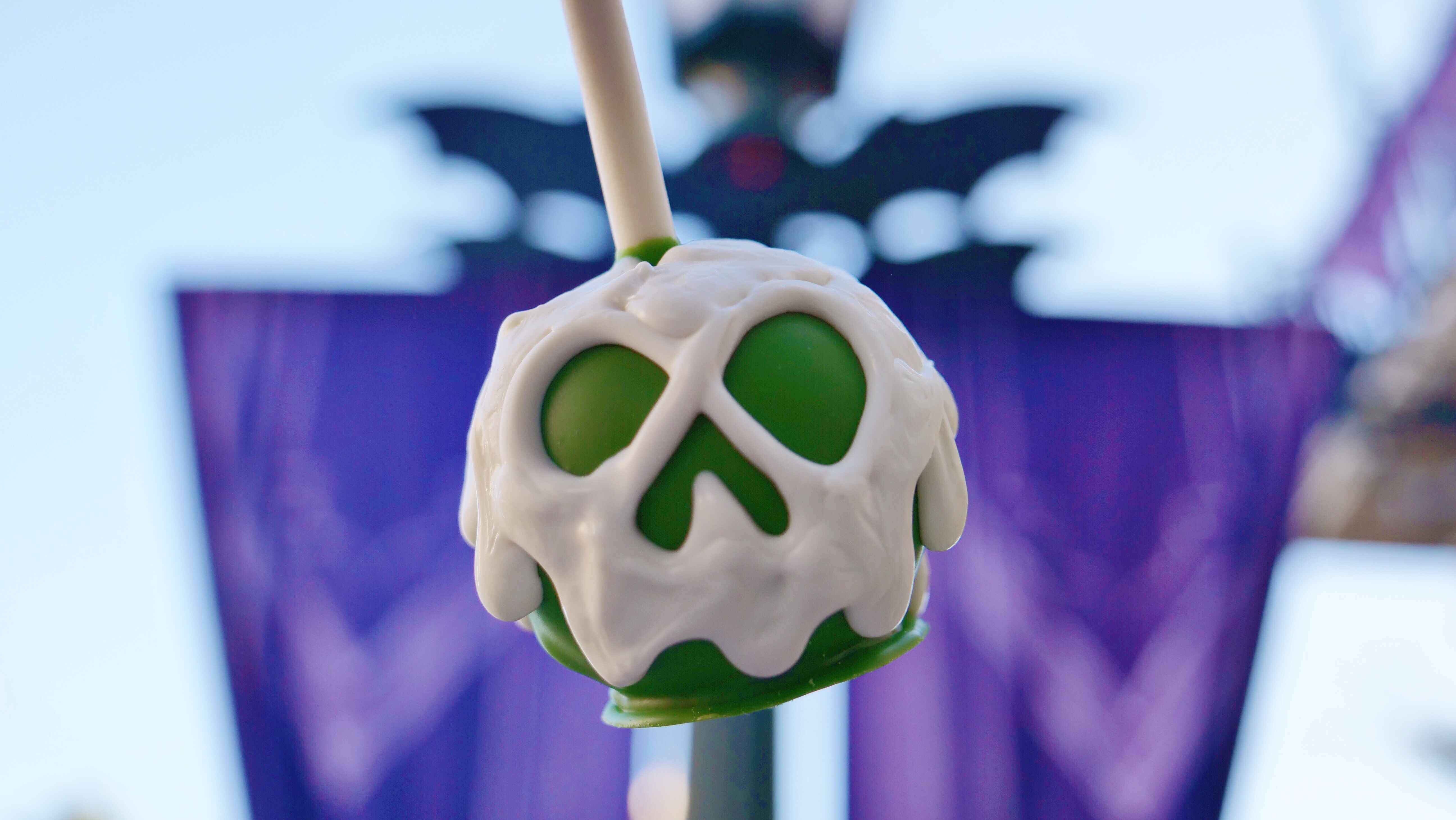 Disneyland Halloween Time Cake Pop