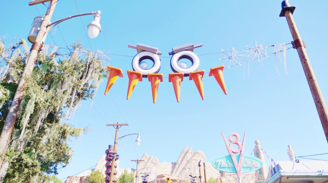 Disneyland Halloween Time Cars Land