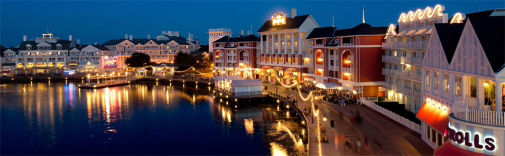 Disney BoardWalk Inn Exterior