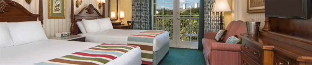 Disney BoardWalk Inn Room