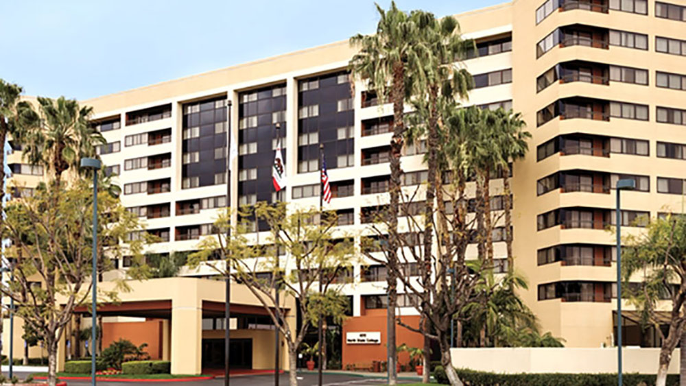 Embassy Suites Anaheim Orange Review Exterior