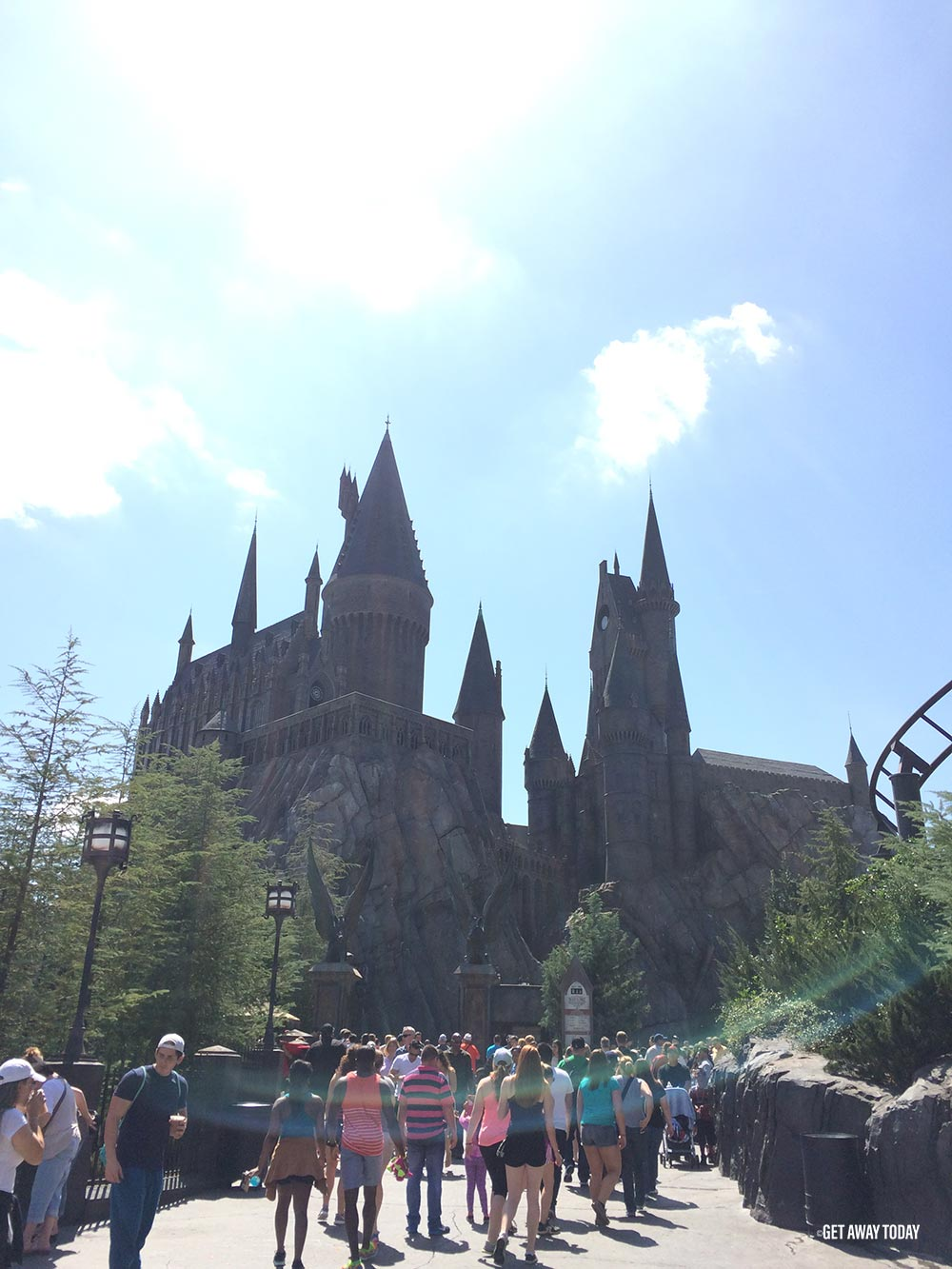 Harry Potter Orlando Castle