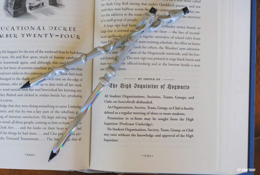 Harry Potter Pencils Book