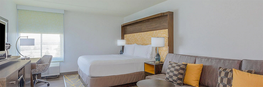 Holiday Inn la Mirada Review Room