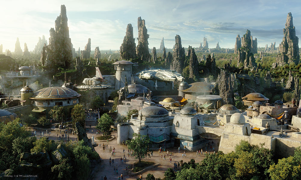 How to Get Into Star Wars Land Galaxy's Edge