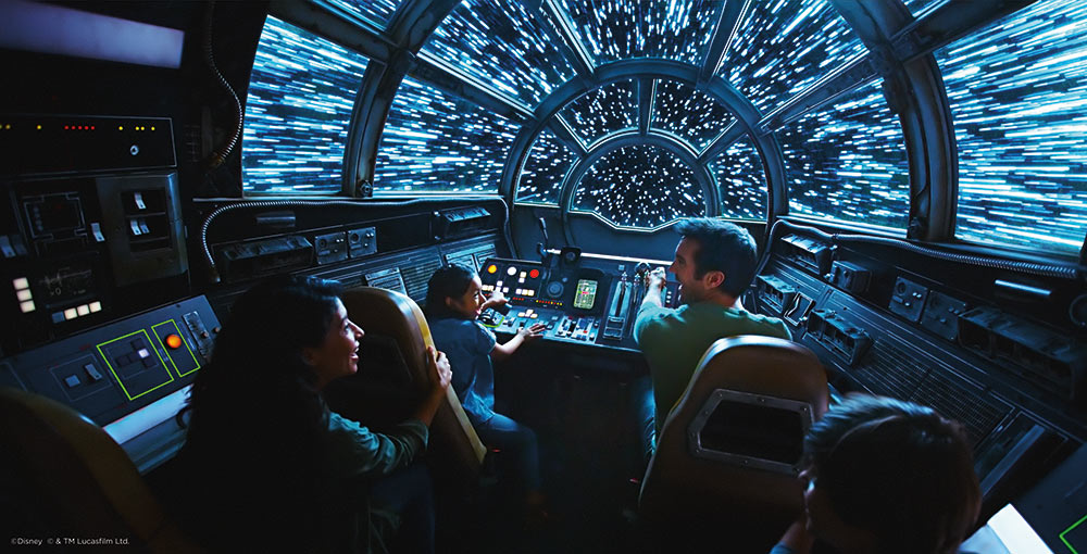 How to Get Into Star Wars Land Millenium Falcon