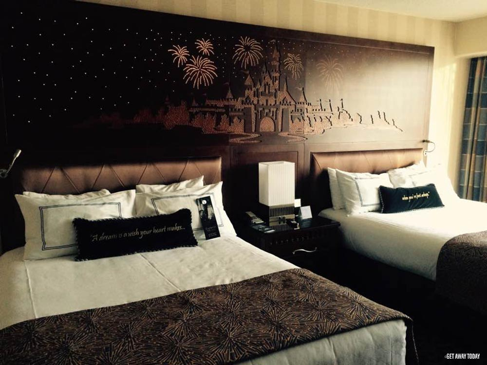 How to Stay Healthy at Disneyland Disneyland Hotel beds to sleep