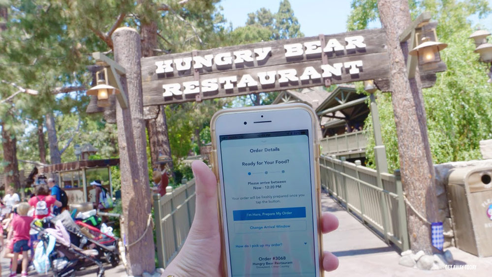 How to Use the Disneyland App Mobile Order
