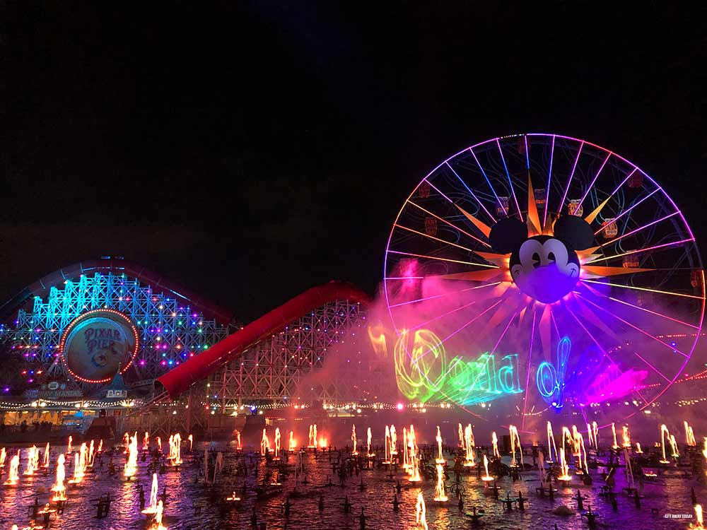 Kids Free Disneyland World of Color