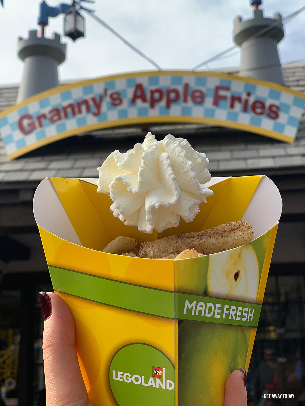 Legoland Vacation Planning Guide Apple Fries