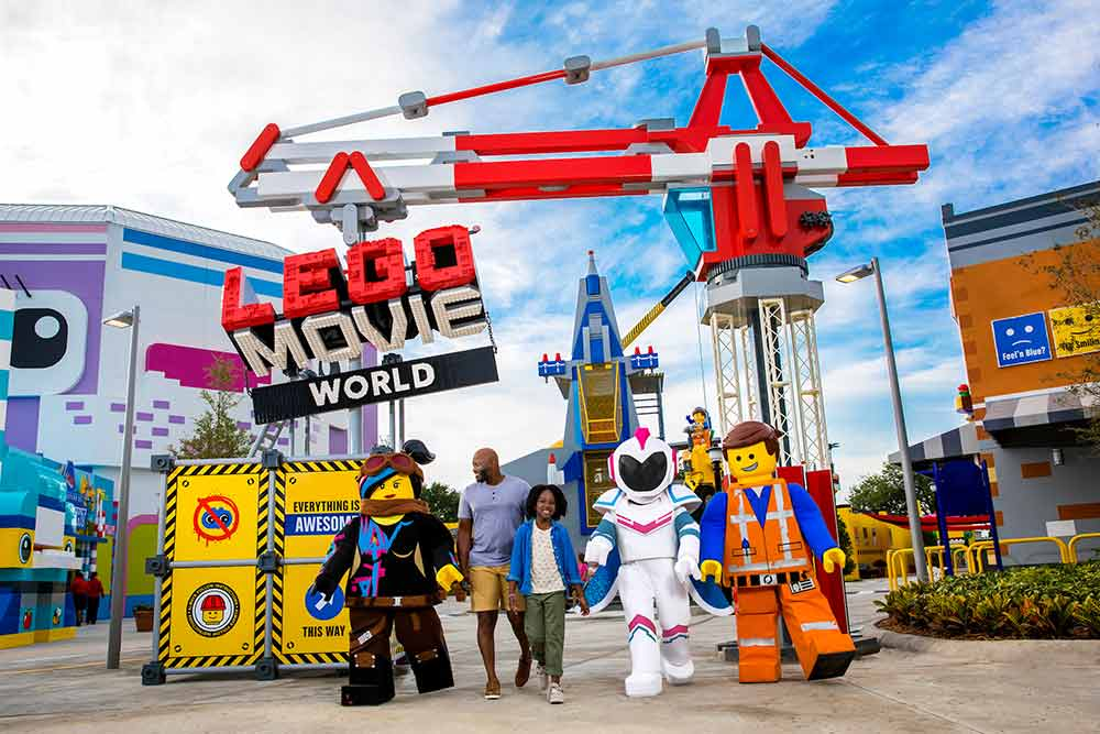 Legoland Vacation Planning Guide Lego Movie World