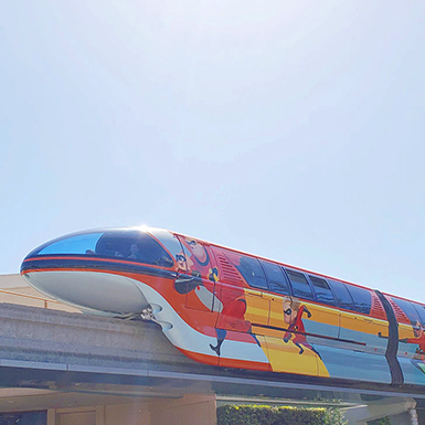 How to Ride the Monorail at Disneyland