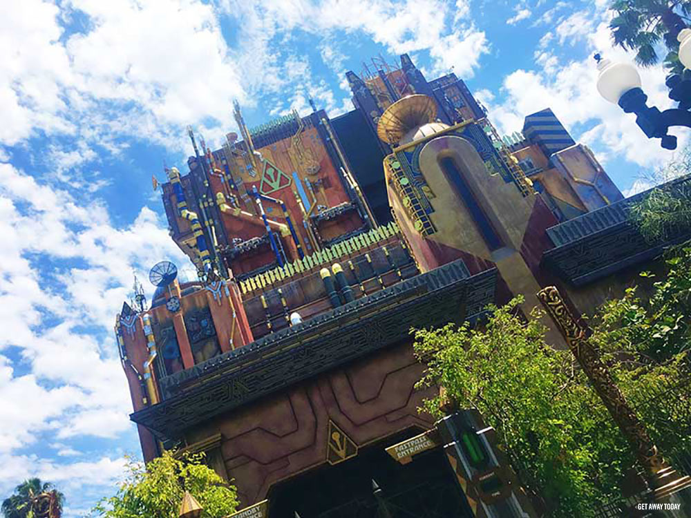 New Guardians of the Galaxy Ride Disneyland Old Tower of Terror Header