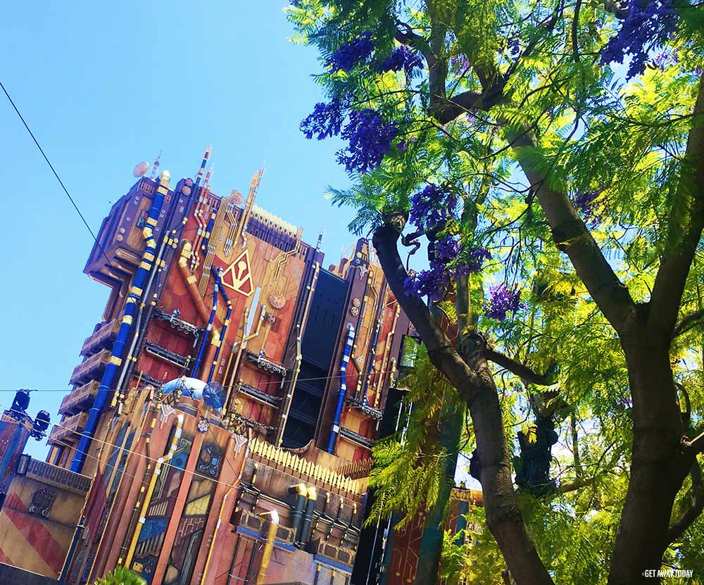 New Guardians of the Galaxy Ride Disneyland Old Tower of Terror Ride