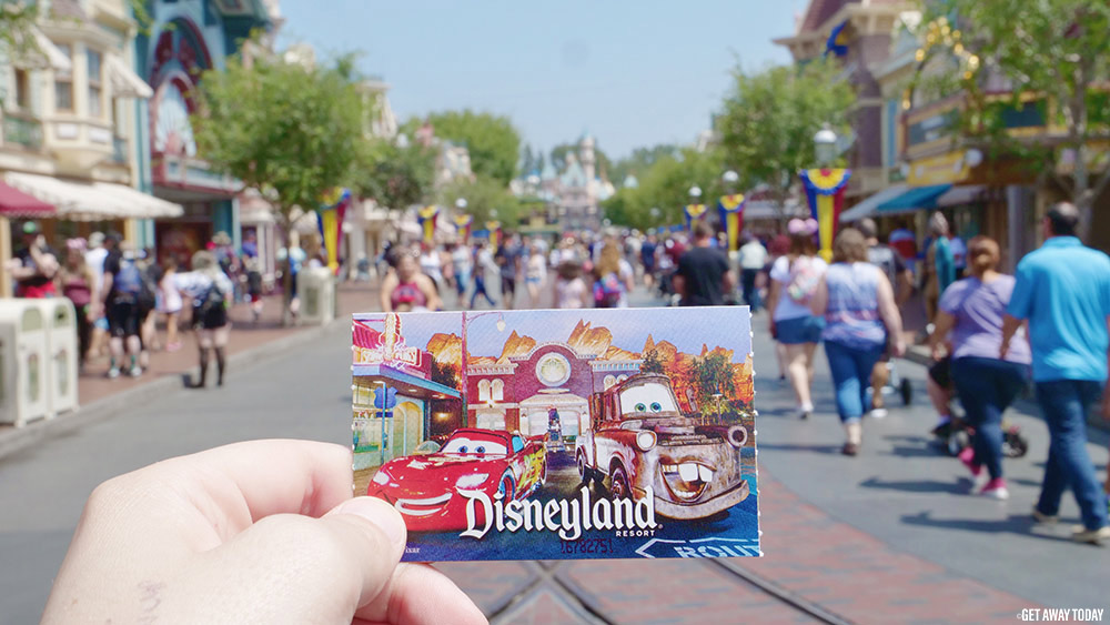 SoCal Resident Ticket Offer Ticket on Main Street