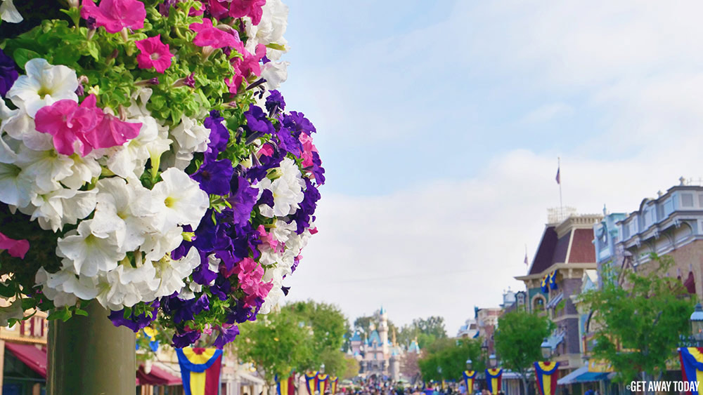 SoCal Resident Ticket Offer Springtime on Main Street at Disneyland plus castle