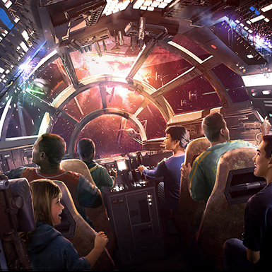 Star Wars Galaxy's Edge Reservations