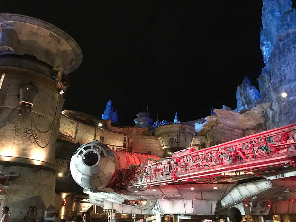 Star Wars Galaxys Edge Walt Disney World Header