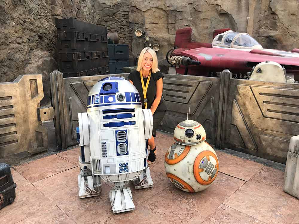 Star Wars Galaxys Edge Walt Disney World Jen Droids