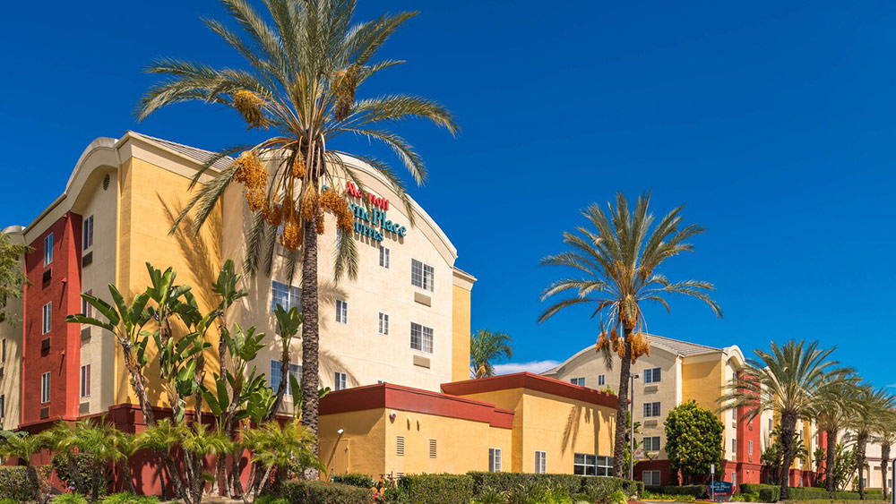 TownePlace Suites Anaheim Exterior