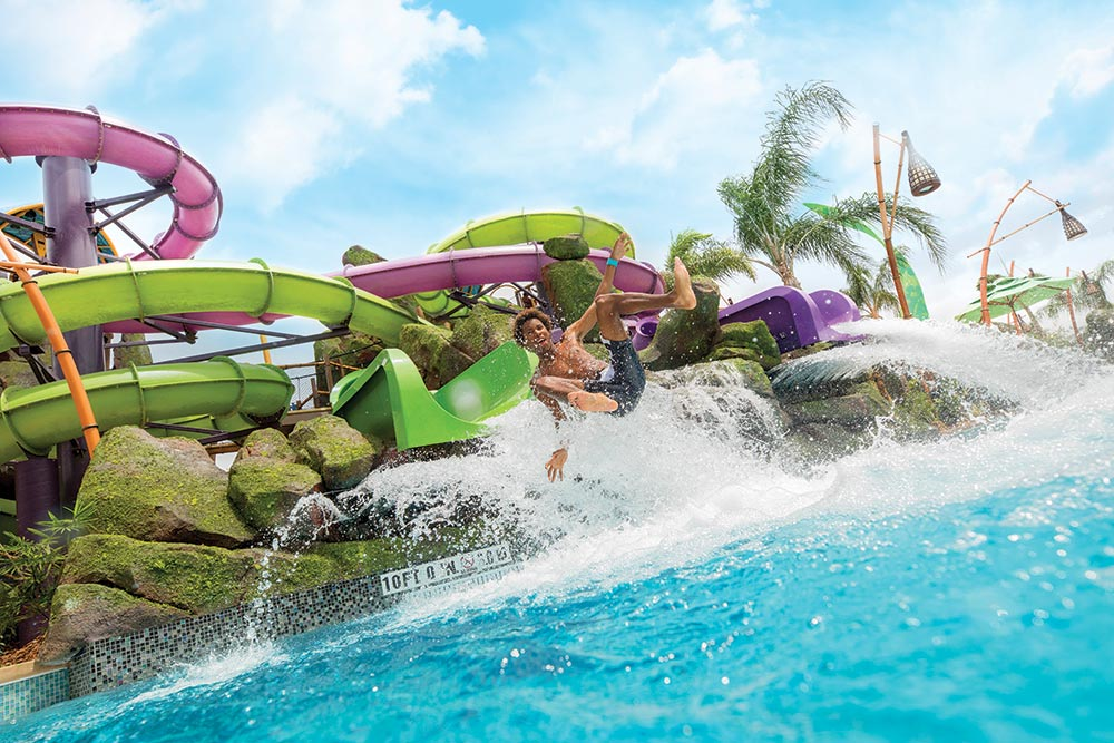 Volcano Bay Orlando Ohno of Ohyah Slides