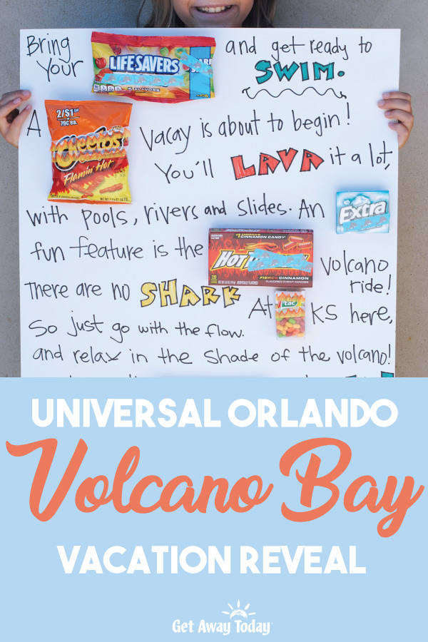 Universal Orlando Volcano Bay Vacation Reveal || Get Away Today