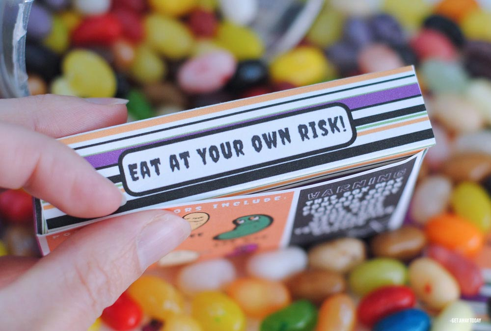 Bertie Botts Every Flavor Beans Box Risk