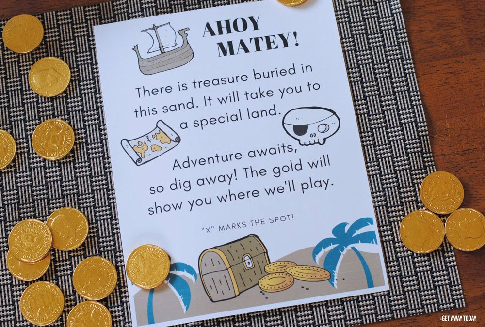 Buried Treasure Disney Vacation Reveal Ahoy