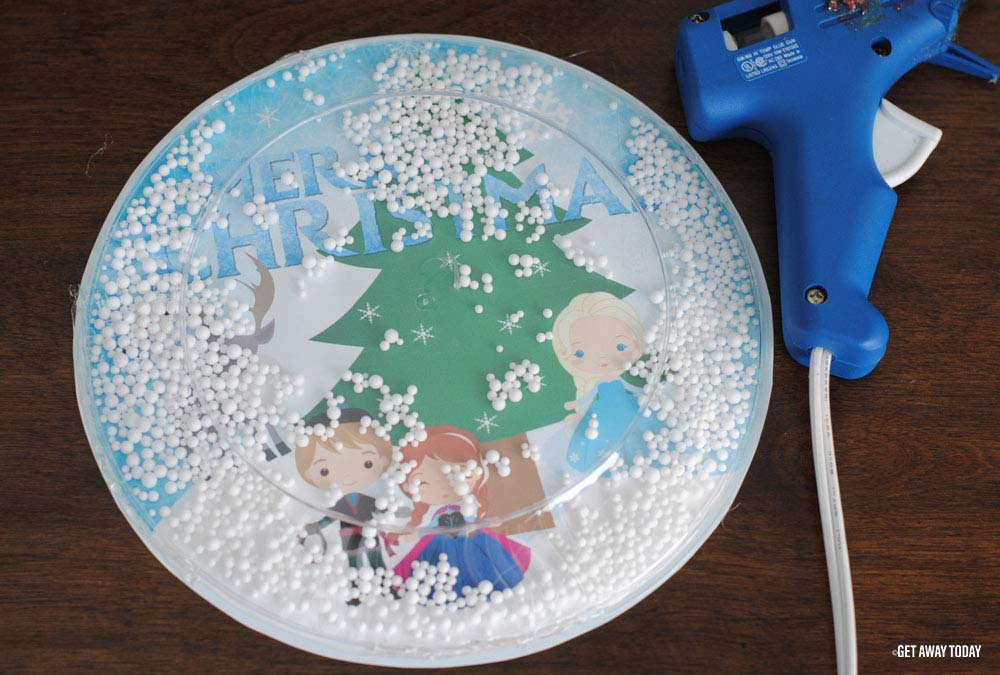 Frozen Snow Globe Glue