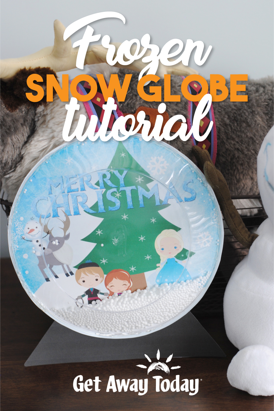 Frozen Snow Globe Tutorial