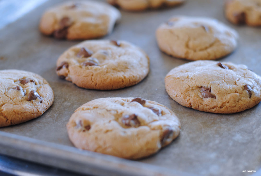 Homemade Ice Cream Sandwich Cookies Baked