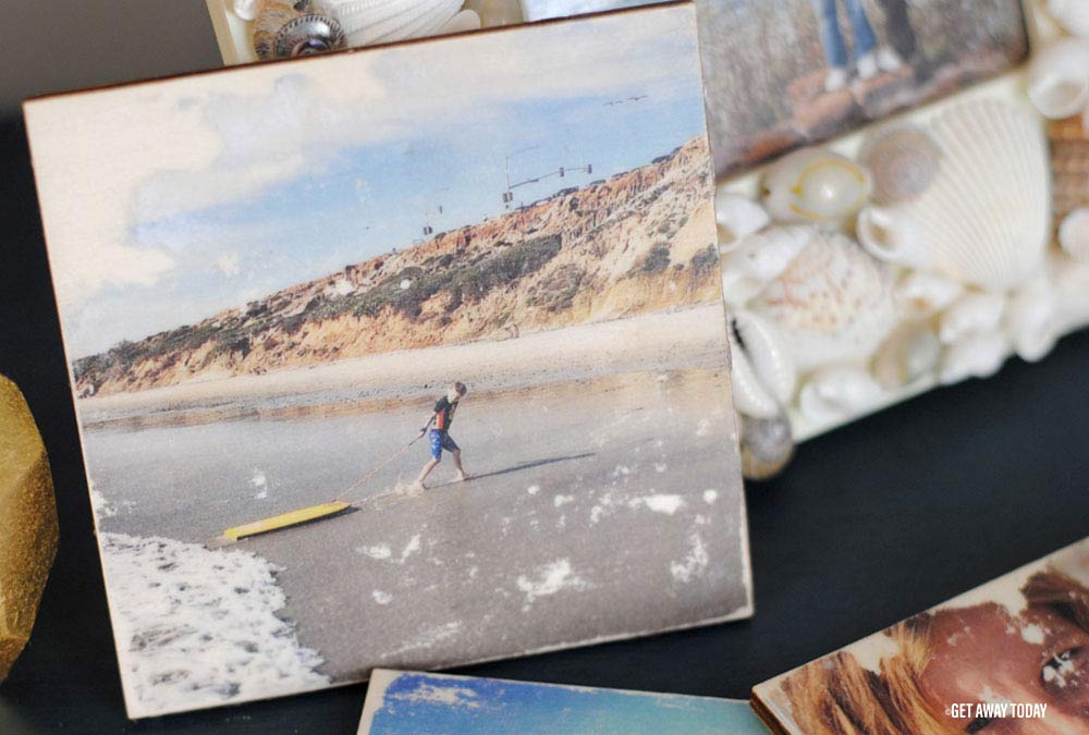 Photo Coasters DIY Header