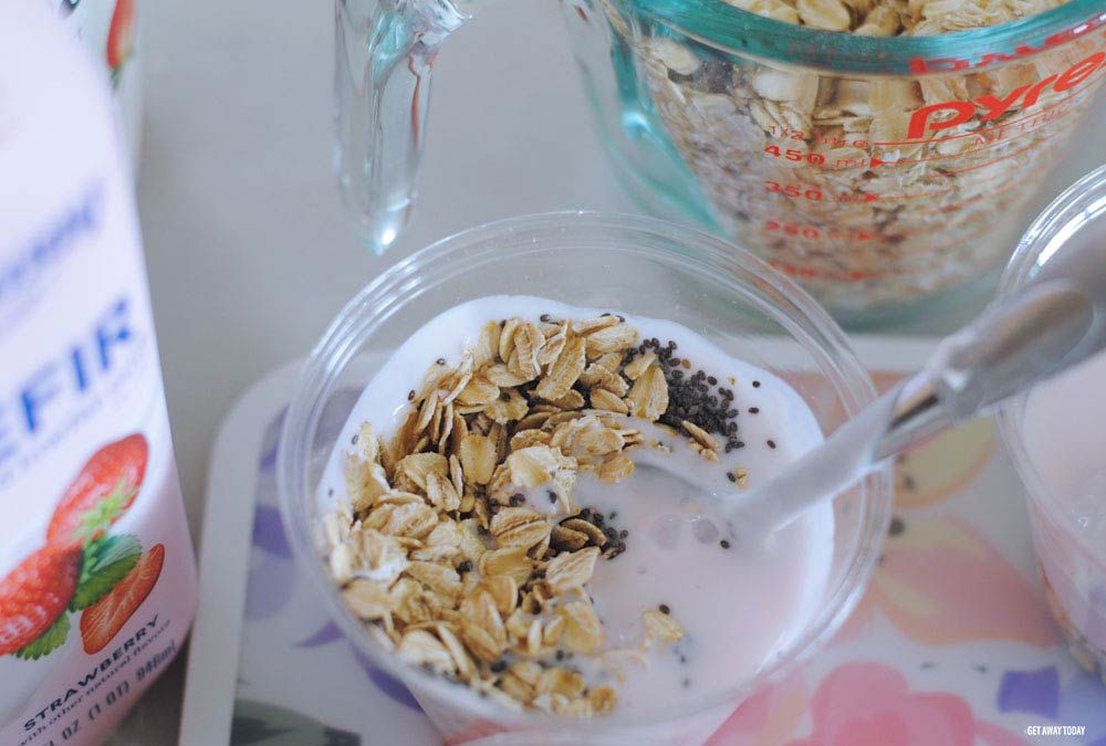 Rising Moons Overnight Oats Mix