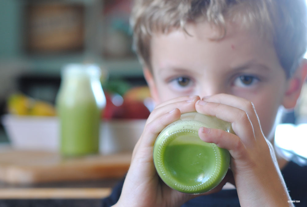 Star Wars Green Milk Recipe Kids