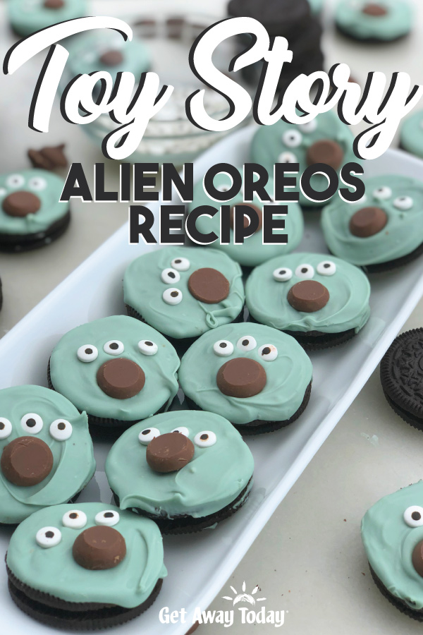 Toy Story Alien Oreos Recipe || Get Away Today