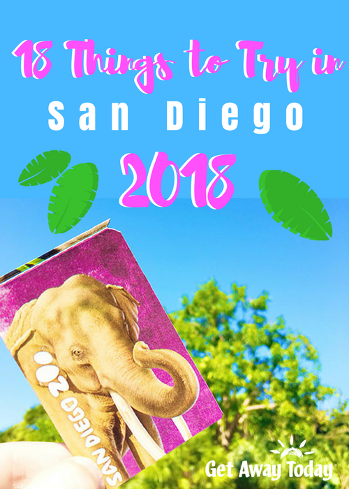 San Diego 2018 Guide Pin | Get Away Today