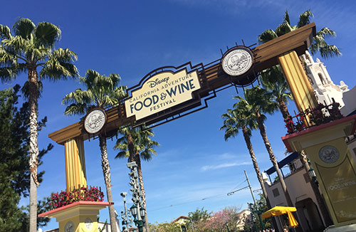 2018 Guide to Disneyland - DCA Food and Wine Festival