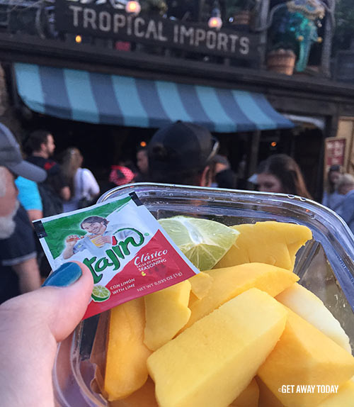 Disneyland Foods You Can Have at Home Right Now Mango Slices