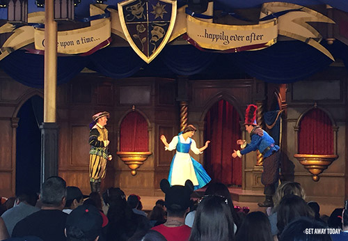 Beauty and the Beast Experiences at Disneyland Fantasy Faire