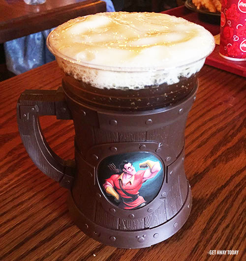 Beauty and the Beast Experiences at Disneyland Gaston Brew