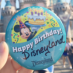 Ultimate List of the Best Disneyland Birthday Freebies