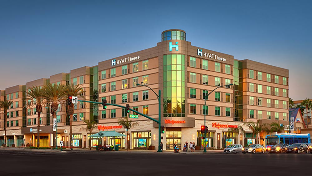 Best Disneyland Hotel for Large Families Hyatt House Exterior