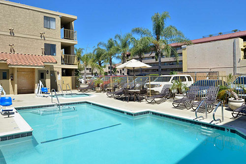 Best Western Anaheim Inn Review Pool