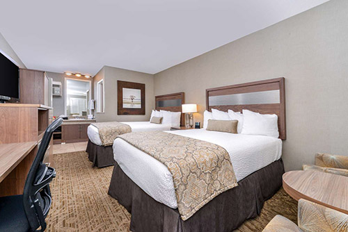 Best Western Anaheim Inn Review Room