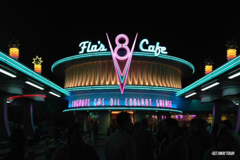 How many days do I need at Disneyland Flo's at night