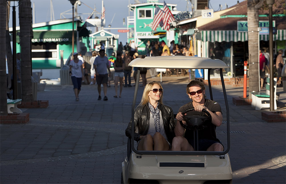 Catalina Express on Catalina Island Golf Carts