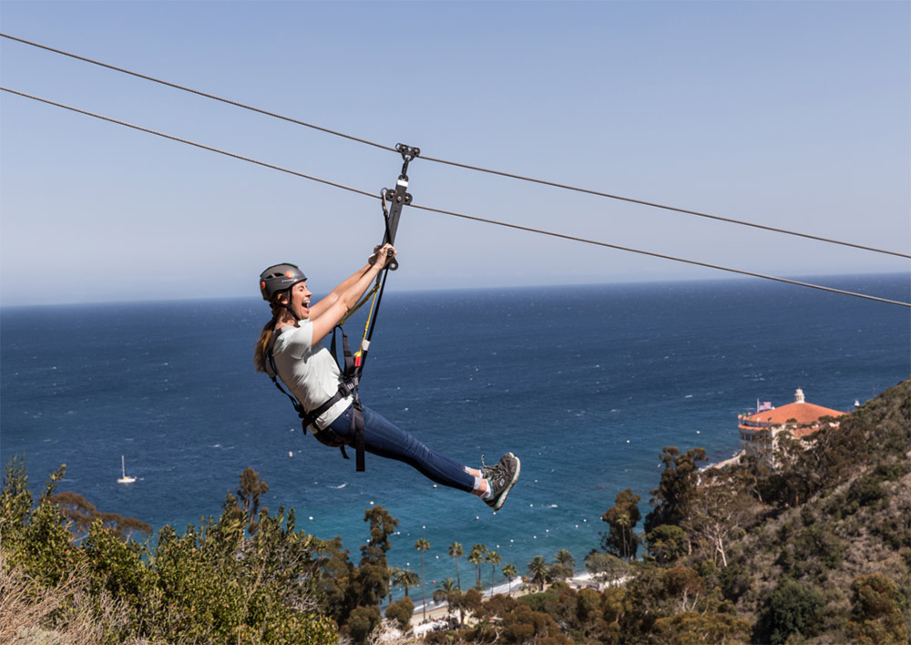 Catalina Express on Catalina Island Zipline